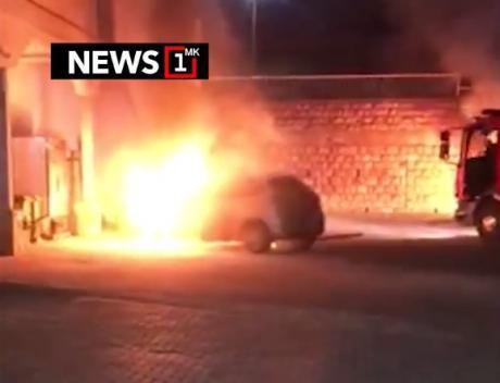 23-годишник ги запалил двата автомобила пред хотелот во Охрид
