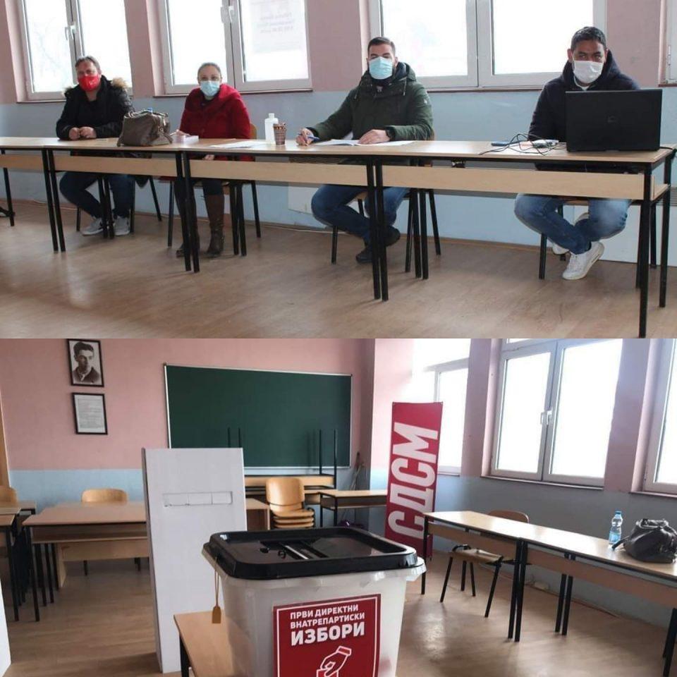 """""""Демократските"""" избори на СДСМ се одржуваат и во училишта"""