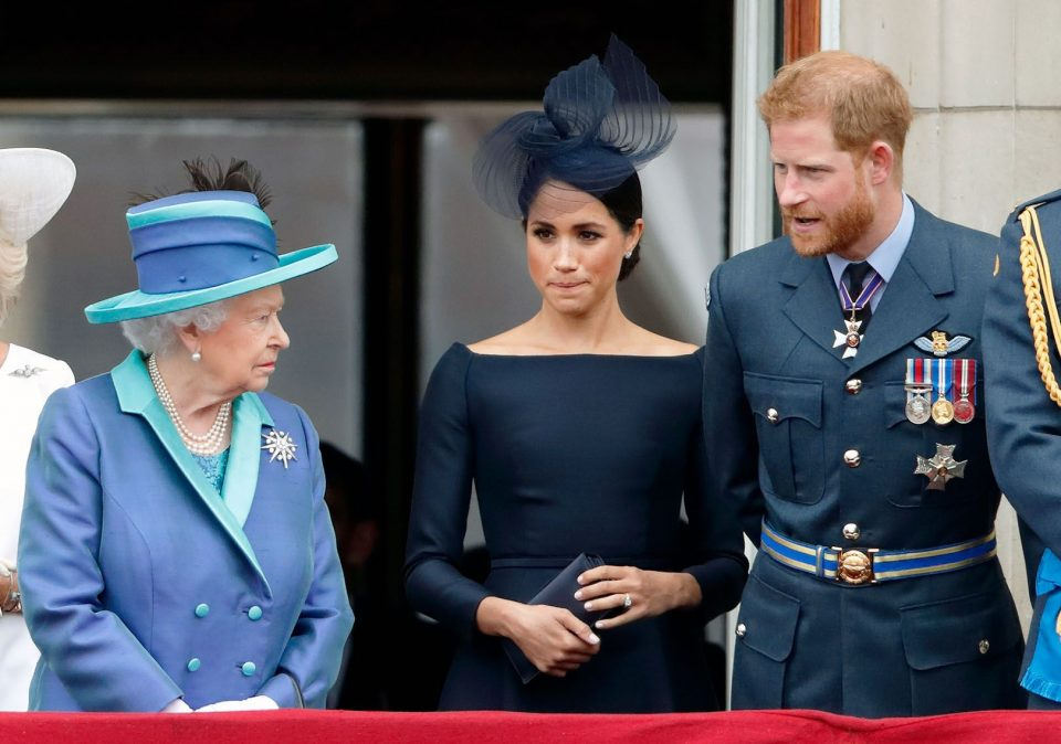 Конечно реакција на Кралицата, не знаела низ каква агонија минуват Хари и Меган