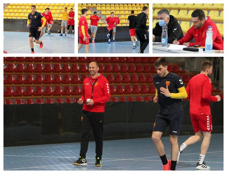 Првиот тренинг со Кире Лазаров како тренер