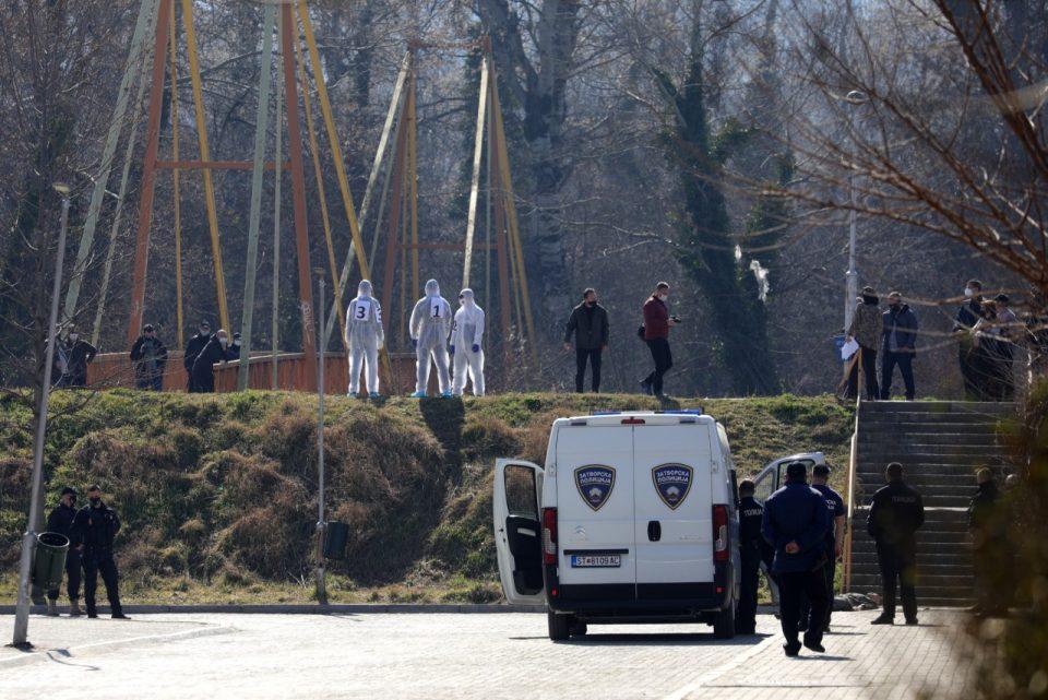Родителите на Ангел соочени со обвинетиот Ештрефи за реконструкција на убиството во Ѓорче
