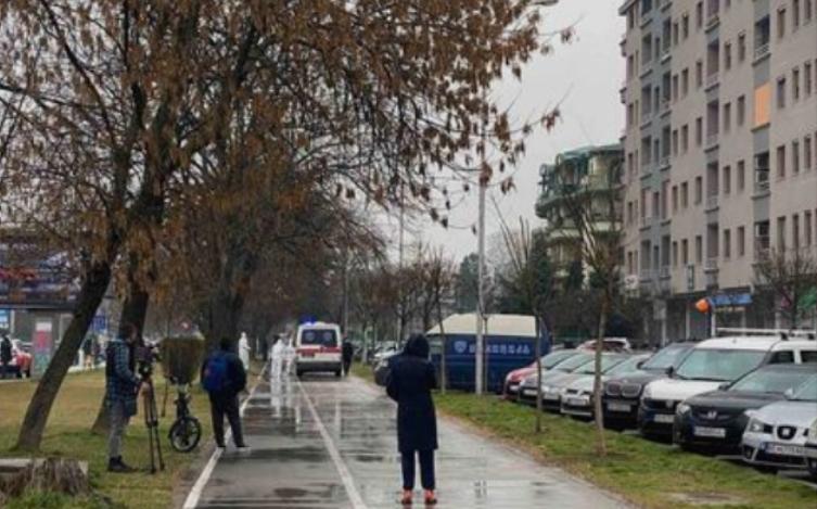 Детали за драмата во Скопје: Девојка сакала да скокне од 5.кат од зграда во Карпош, интервенирале специјалци