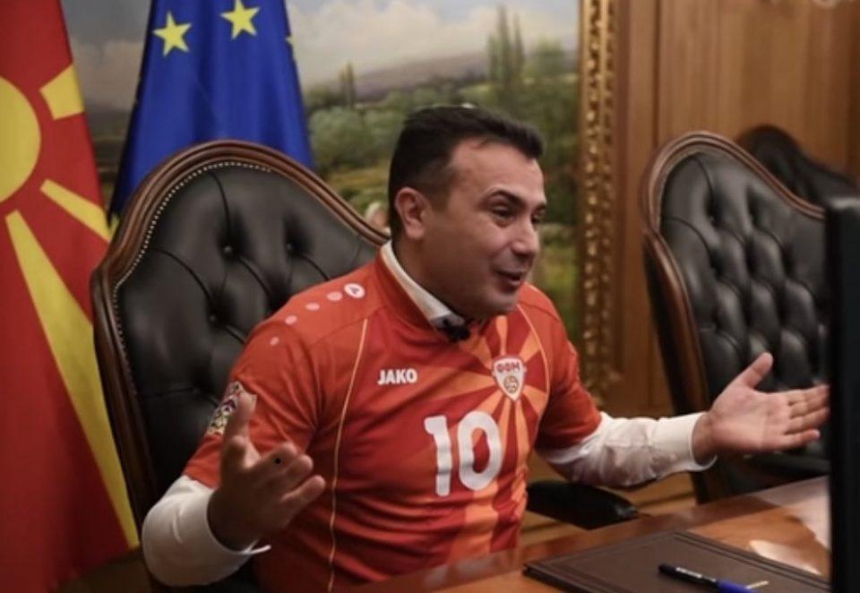 Заев за мапата на Каракачанов: Како што е подготвен Никола да шутира, така и јас сум, кога ти местат пенал
