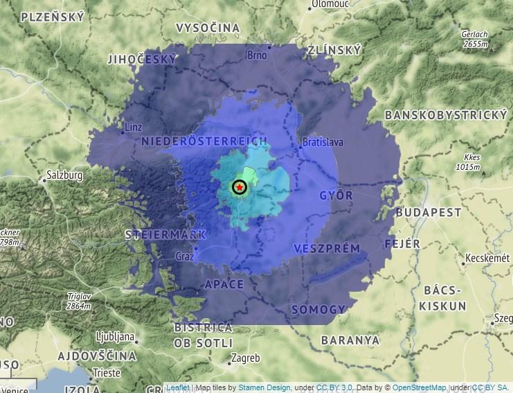 Два посилни земјотреси во близина на Виена