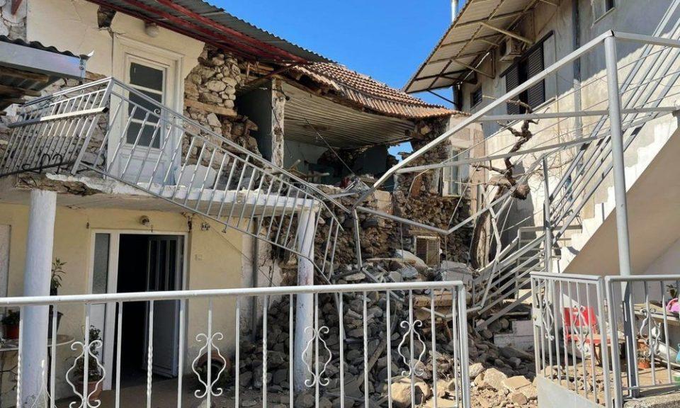 Рушени куќи, цркви, училиште во силниот земјотес во Грција, засега нема повредени