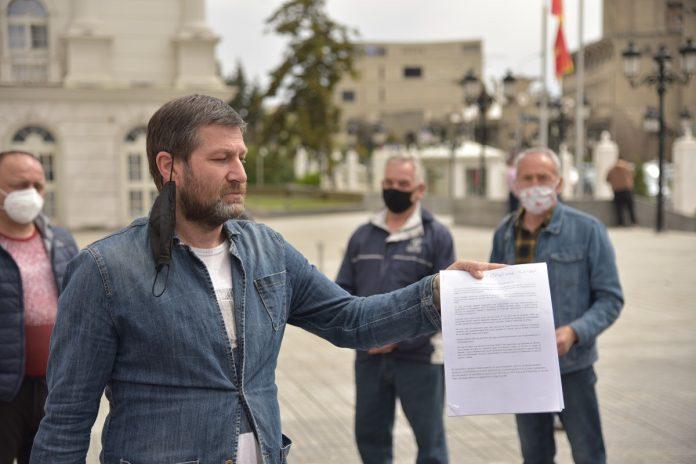 """Жители на Ново Маало: Институциите да не помислат да го суспендираат планот за изградба кај """"Холидеј ин"""""""