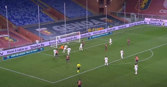 Ова е стотиот гол на Пандев во Серија А