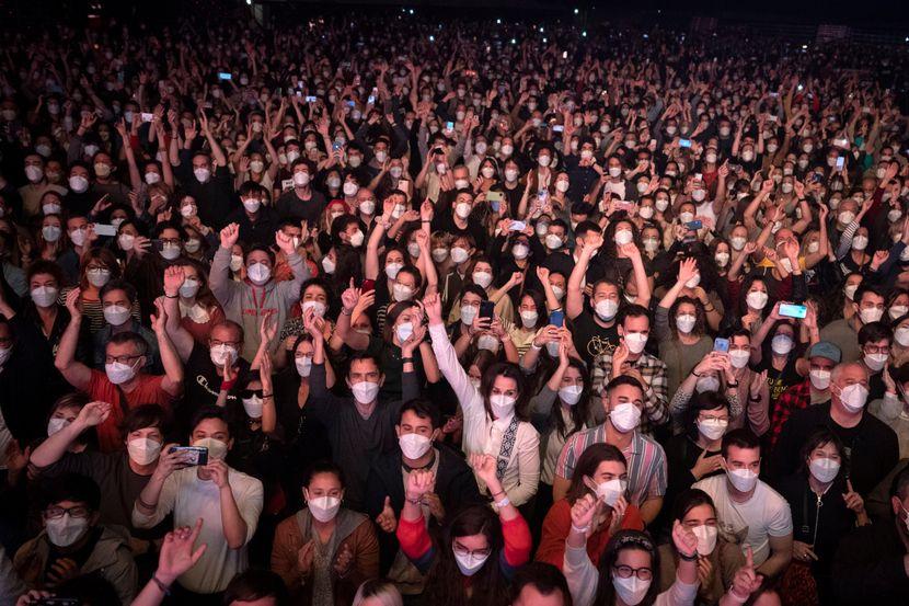 На концерт во Шпанија со 5.000 посетители, само двајца се заразиле со коронавирус