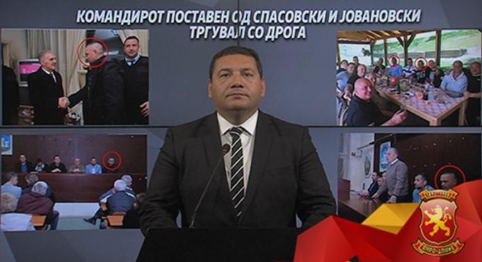 Спасовски треба да си поднесе оставка што негов командир на полиција и близок соработник тргувал со дрога
