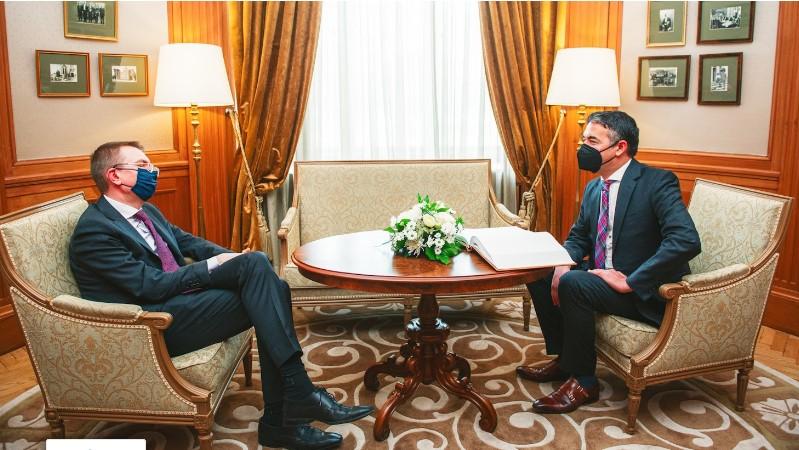 Димитров на средба со Ранкиевичс: Македонија постигна неверојатен напредок во процесот на приближување кон ЕУ