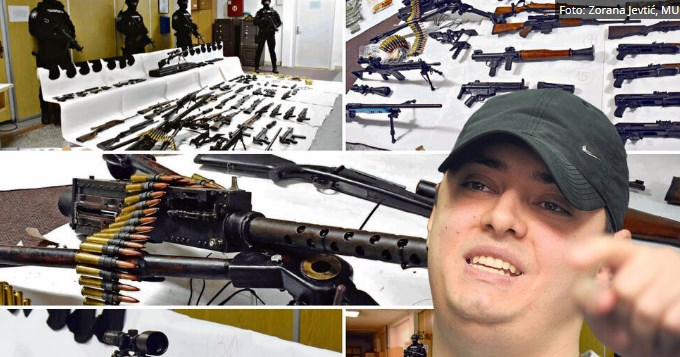 Оружјето најдено кај Веља пробива и блиндиран автомобил