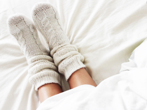Спиењето само по чорапи е најцврсто
