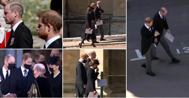 Што му рече Хари на Вилијам после погребот на дедо им: Експертите читаа од усни