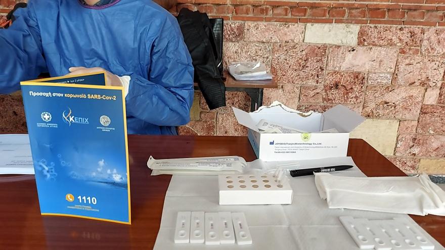 Граѓаните на Атина ако сакаат во црква за Велигден ќе се тестираат со брзи тестови за ковид-19