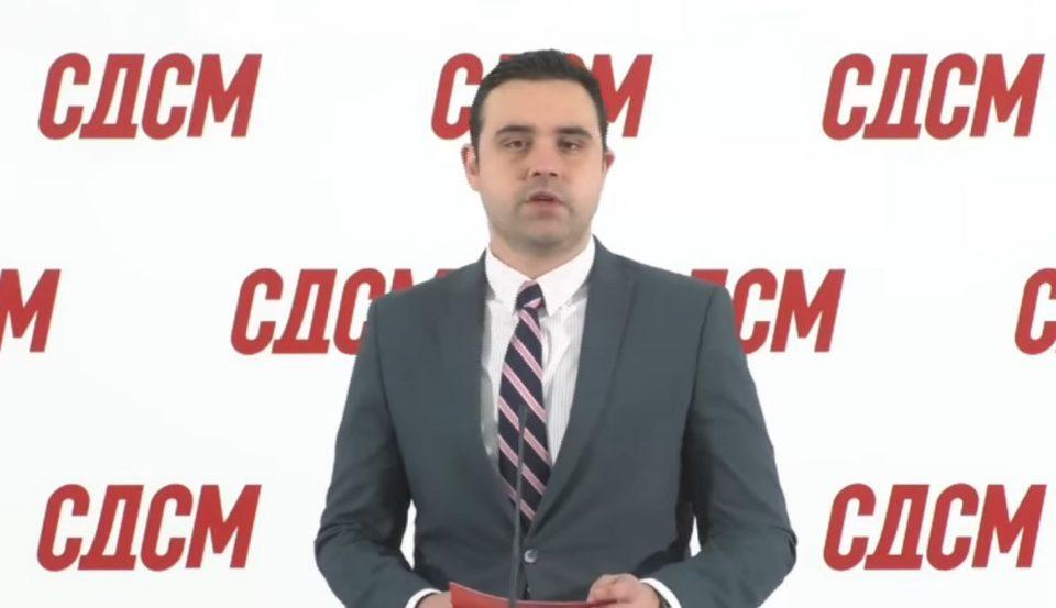 Костадинов: Јас нема да коментирам ништо по протестот на ВМРО-ДПМНЕ