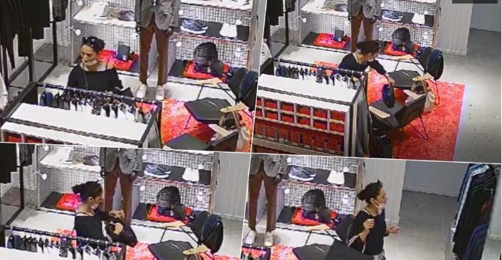 Крадачка во акција: Во бутик украде 8.500 евра, а потоа мирно си замина