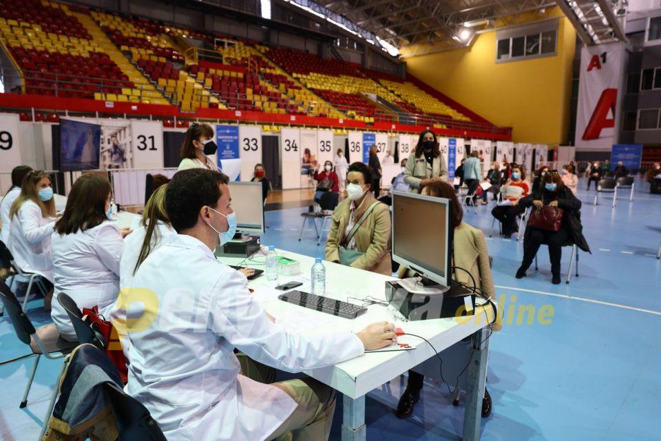 """""""Масовна"""" вакцина примиле 26.000 граѓани"""