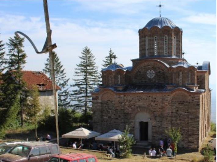 Изгаснат пожар во близина на манастирот во Матејче