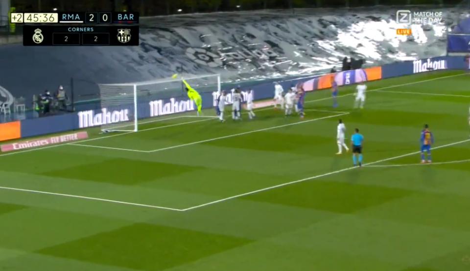 Меси од корнер шутираше директно во голот на Реал Мадрид