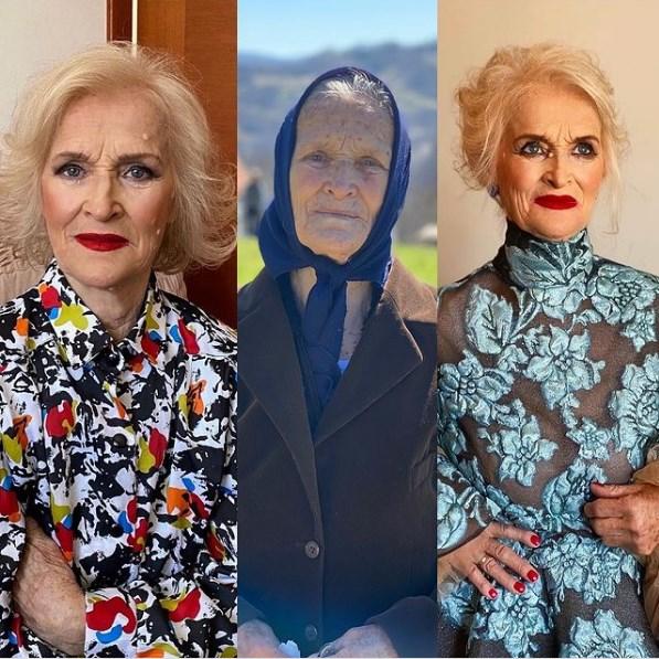 Внук целосно ја трансформираше неговата баба, 86-годишната Милоратка од Ивањица