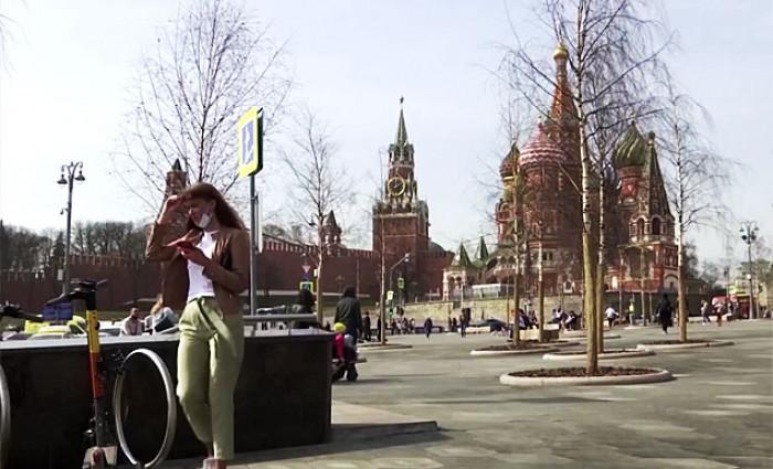 Во Москва измерени рекордни 21 степен
