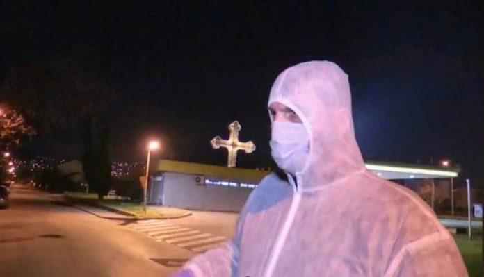 Стоилковски се прошета во скафандер во полициски час: Најважно беше да се изгласа Законот за марихуана
