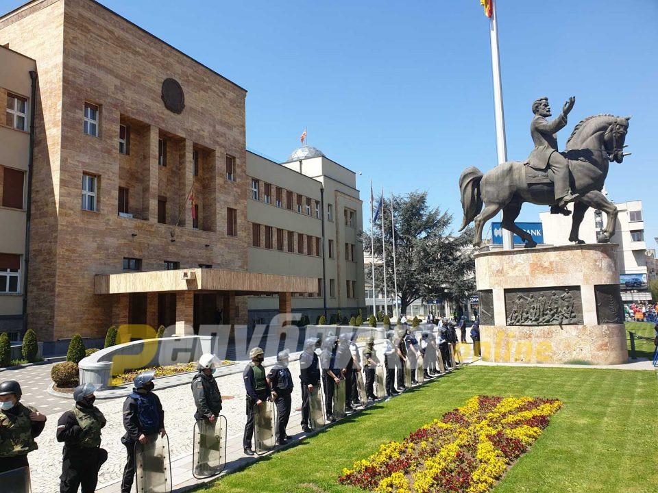 Центарот се затвора во 11 часот: Два дена блокади за прославата на независноста