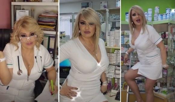 Ако отидете во Белград можеби таа ќе ве вакцинира: Ана е најзгодната медицинска сестра во Србија