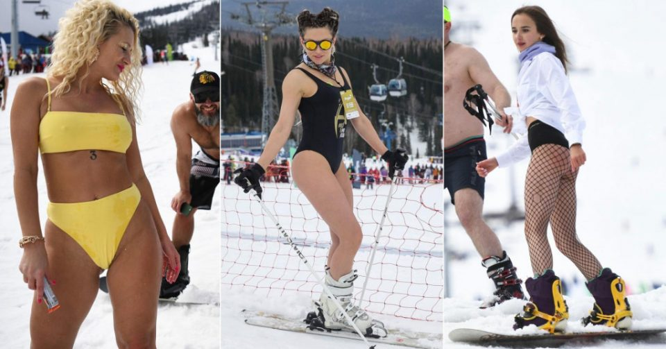Од маски само карневалски: Како изгледаше овогодинешниот фестивал во популарното скијалиште Шерегеш