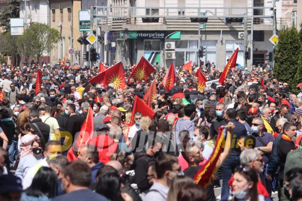 Пандов: Народот вчера му покажа на Заев и дека воопшто не се согласува со неговото владеење