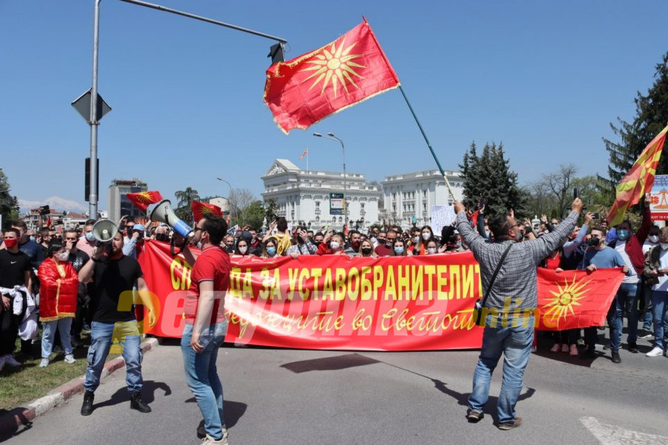 ВМРО-ДПМНЕ: Најголемиот добитник од настаните на 27 април е Заев