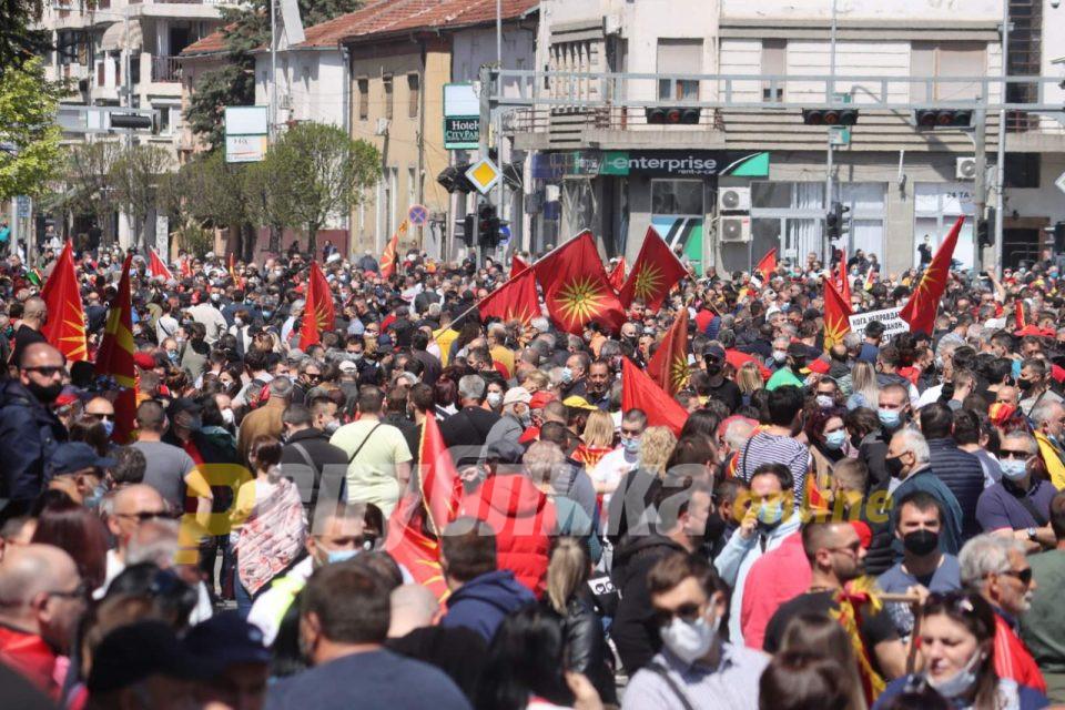 На народот му е преку глава од неправди, слобода за Уставобранителите!