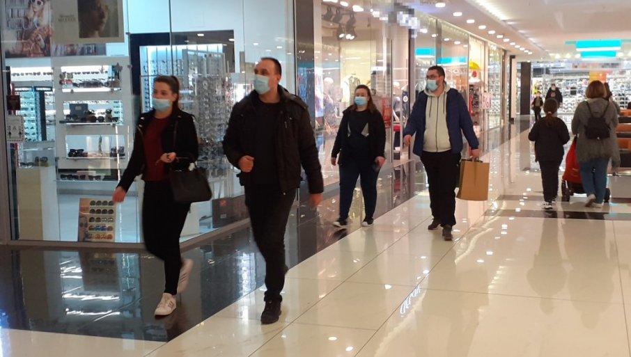 Повторно се отвораат трговските центри во Србија, ова се протоколите за работа и посета