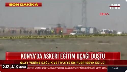 Се сруши борбен авион во Турција, загина пилотот