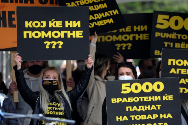 ВМРО-ДПМНЕ: Срамота е СДСМ да се фали со економски мерки кога стотици угостители се на раб на опстанок