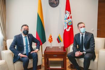 Ландсбергис по средбата со Димитров: Очекуваме целосна поддршка за членство на Македонија во ЕУ