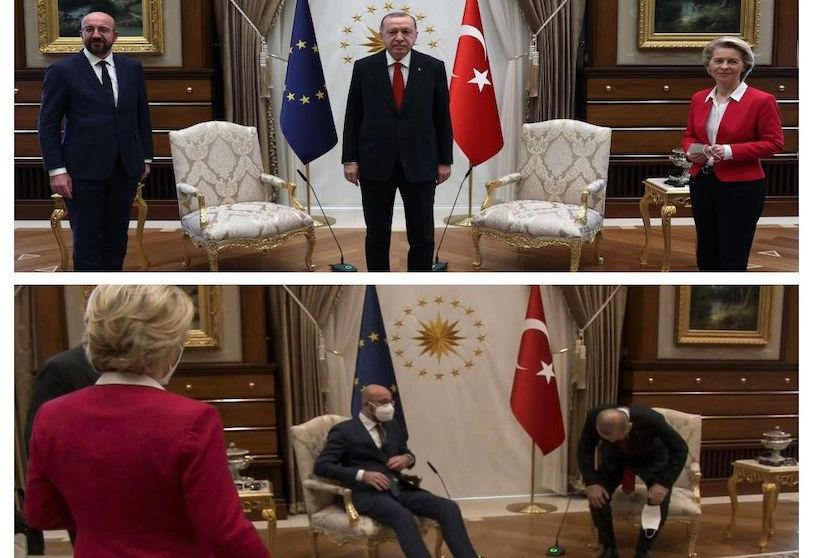 Ова се случи затоа што сум жена, вели Фон дер Лајен првпат зборувајќи за инцидентот кај Ердоган