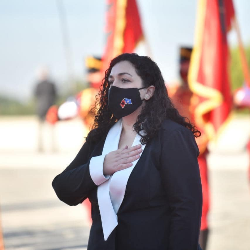 Вјоса Османи е нова претседателка на Косово