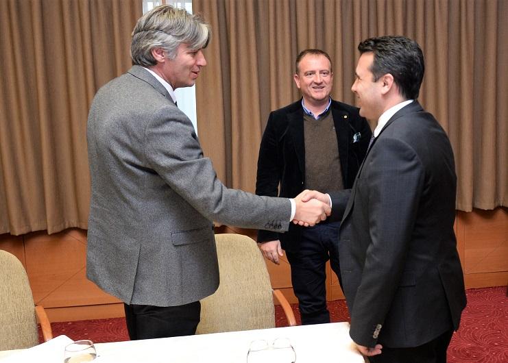 Заев по средбата со Села и Гаши: Усогласен е договор за законските решенија за стекнување државјанство