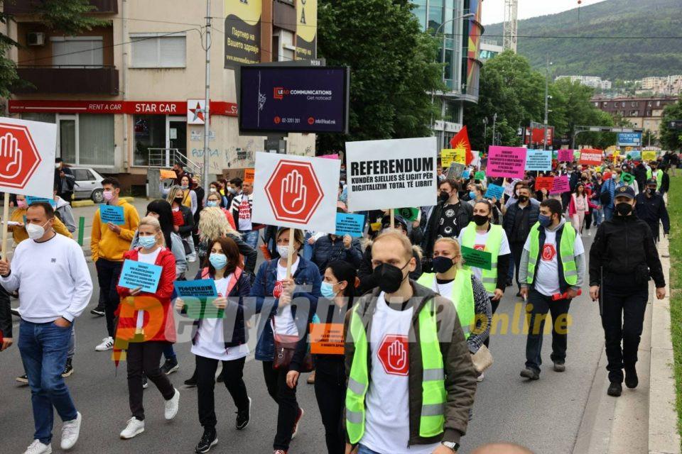 Спасевска: Бараме задолжително учество на граѓанската група во креирање на законот за учебниците