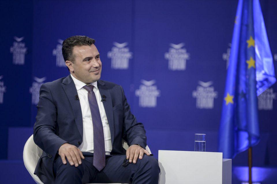 """Заев и на """"Инстаграм"""" тврди дека не преговара за идентитетот"""