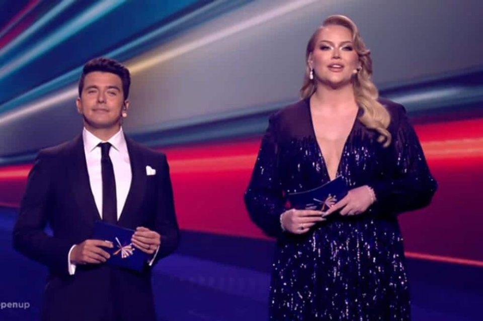 Евровизиската водителка била маж