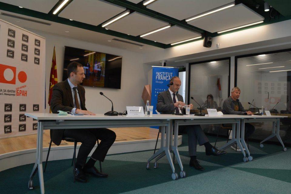 Потпишан договор за соработка во филмската копродукција меѓу Македонија и Франција