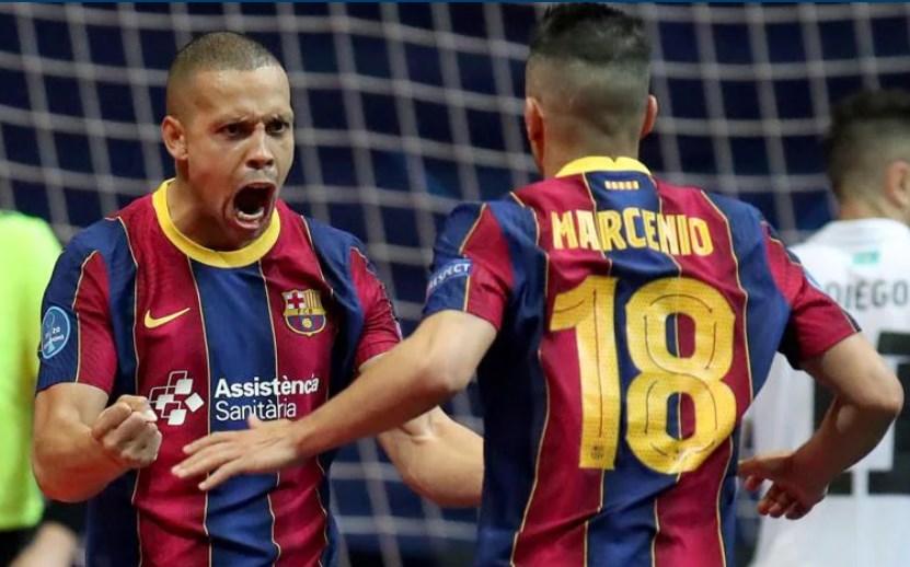 Барселона можеби ќе ја освои Лигата на шампионите, но во футсал