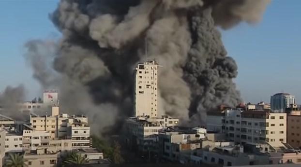 Израел се изјасни зошто ја сруши зградата во Газа: Била упориште на терористи од Хамас