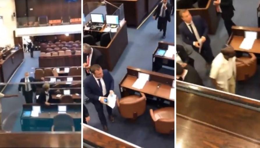 Вака се тресеше парламентот во Ерусалим од бомбите на Палестинците