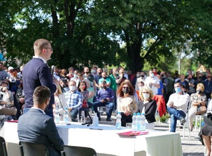 Мицкоски: Овој пат нема да ја обновуваме Македонија, ќе треба да ја градиме од почеток