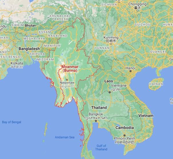 Не е само Македонија: И Мјанмар самиот си го смени името