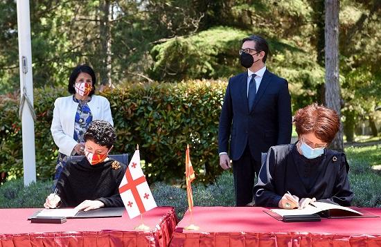 Македонија и Грузија потпишаа Меморандум за соработка во областа на културата