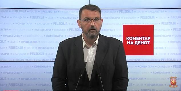 Стоилковски: За да просперираш во СДСМ мора да си замешан во некаков криминоген скандал